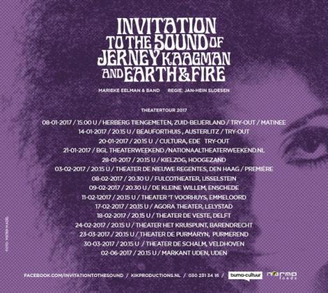 Tourdates Invitation to